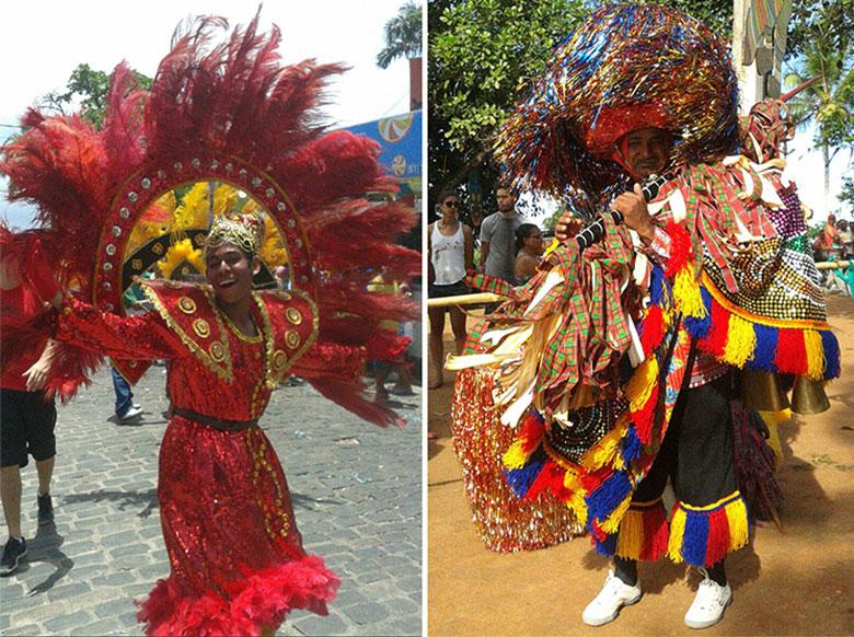 Carnaval 2017 Maracatu em Pernambuco