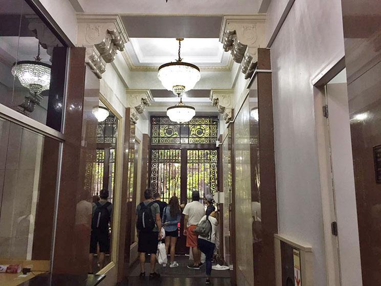 Corredor do Edifício Martinelli