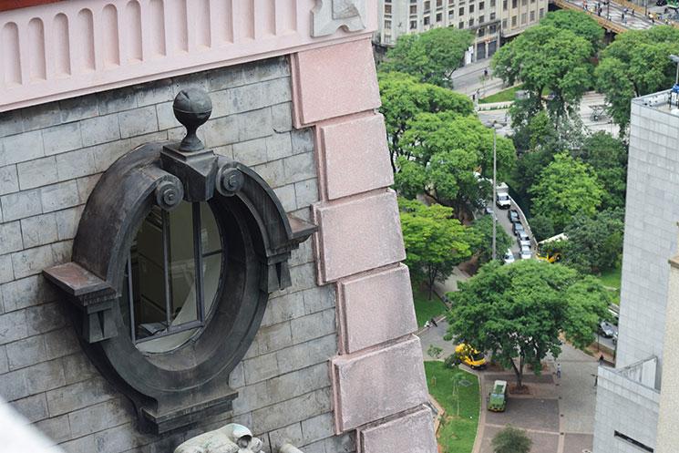 Detalhes do Edifício Martinelli
