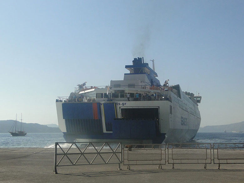 Ferry boat na Grécia