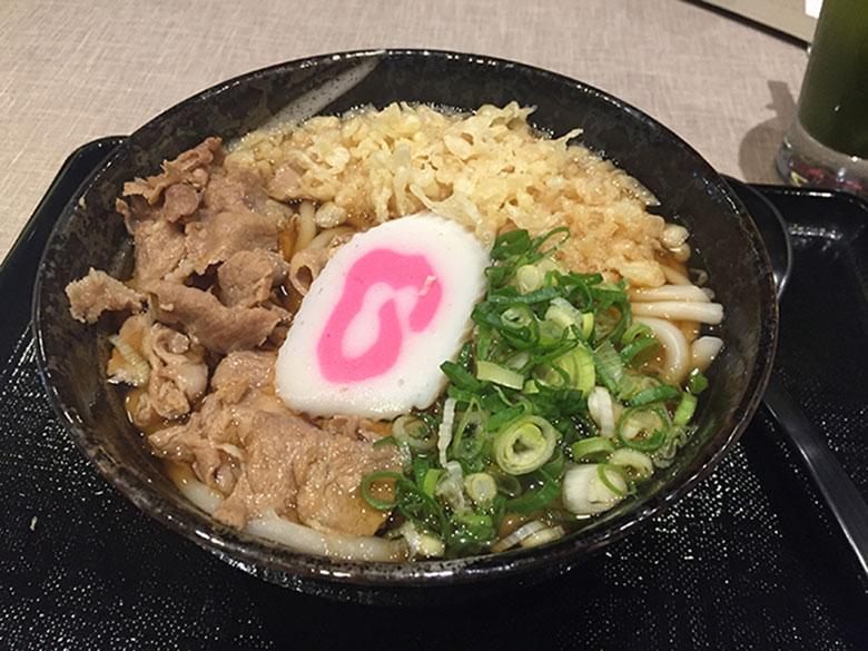 Udon Picadinho de carne suína no Momo Lamen na Liberdade