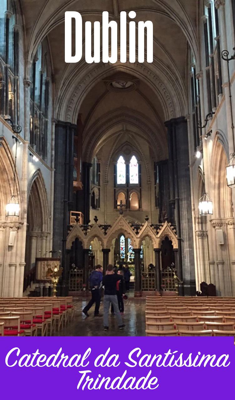 Interior da Catedral de Dublin