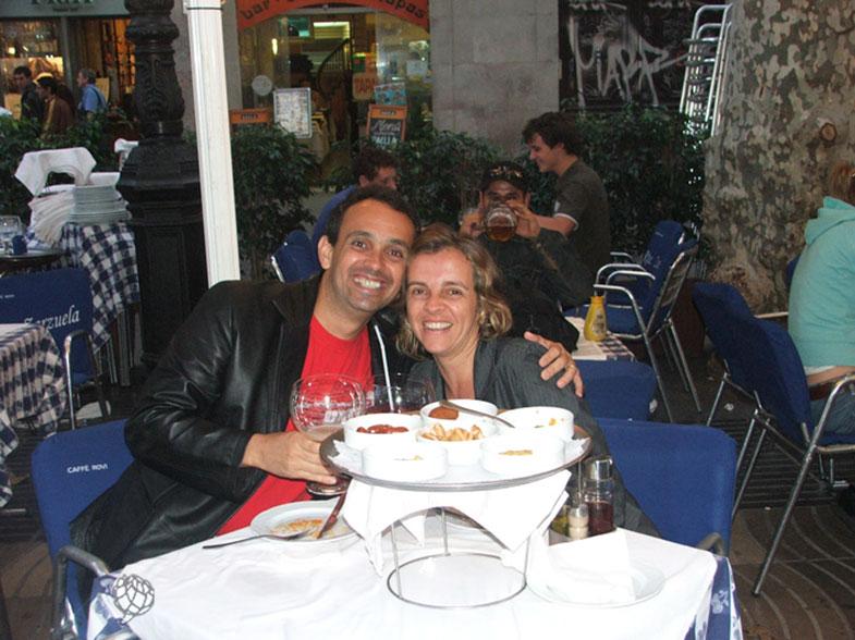 Tapas em Barcelona