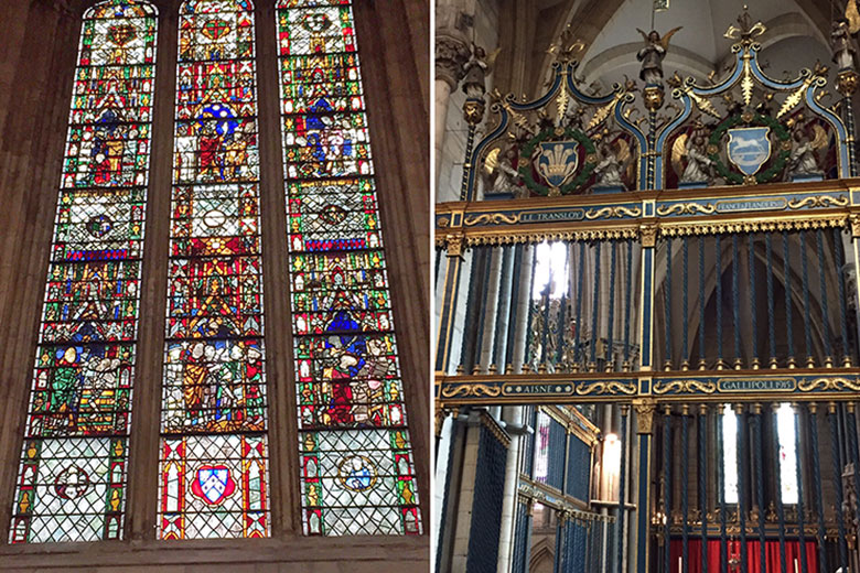 Detalhes da Catedral de York