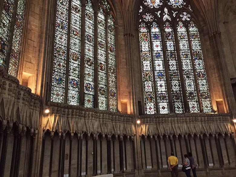 Vitrais da Casa Paroquial da Catedral de York