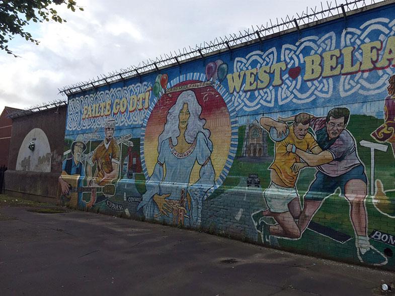 Peace Wall em Belfast