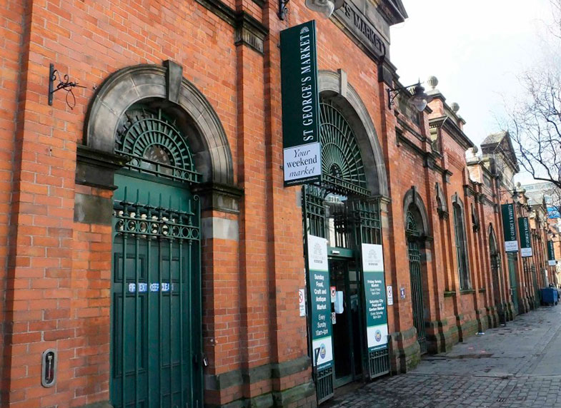 St George's Market em Belfast