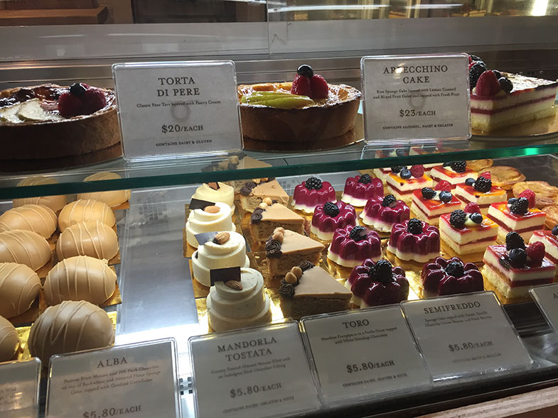 Doces no Eataly New York