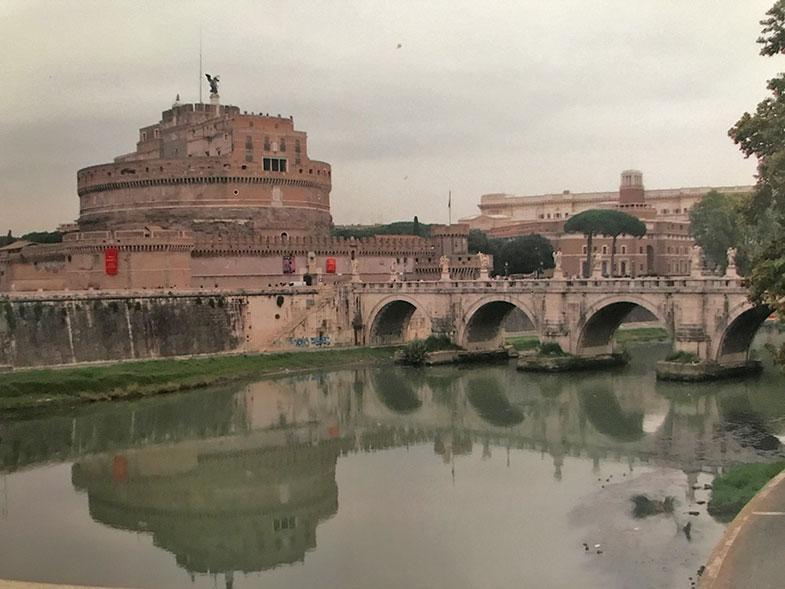 Castelo Sant'Angelo em Roma