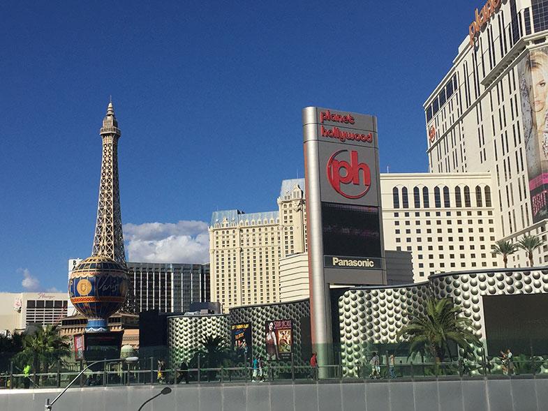 Las Vegas e seus lindos hotéis