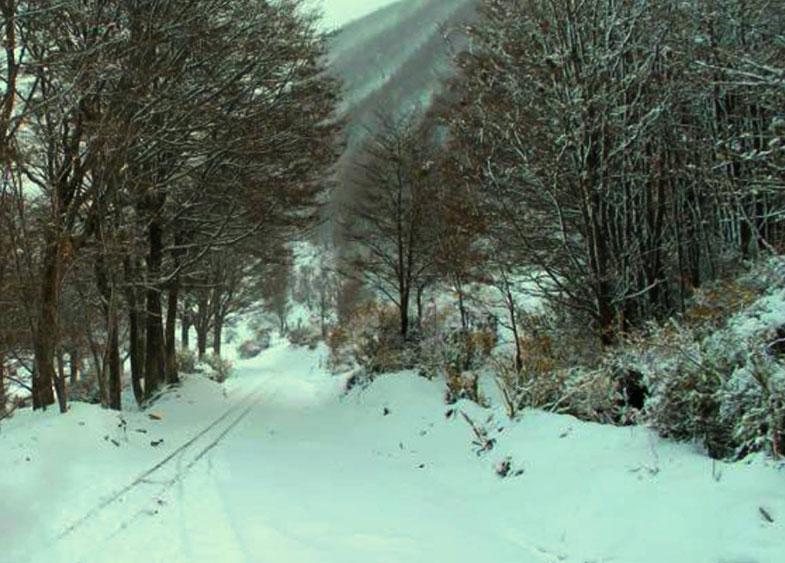 Pelas estradas em Ushuaia
