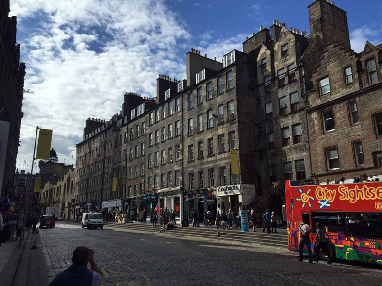 Royal Mile em Edimburgo