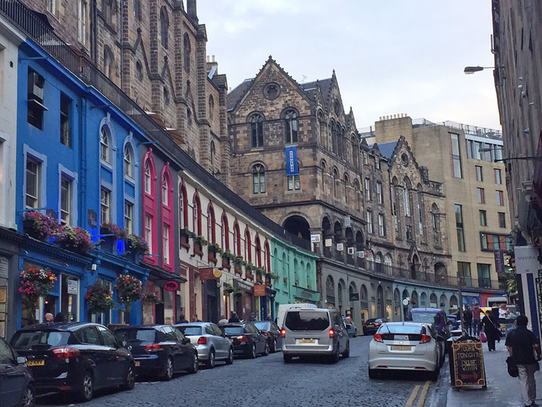 Old Town em Edimburgo