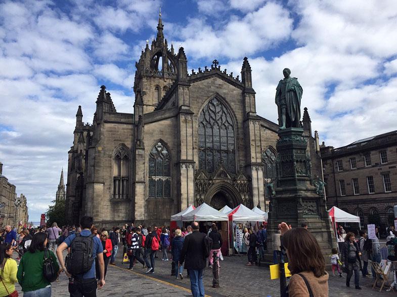 St Gle's Cathedral em Edimburgo
